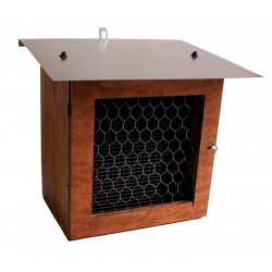 Example of use - with BioDar nesting trays for Mason Bee breeding